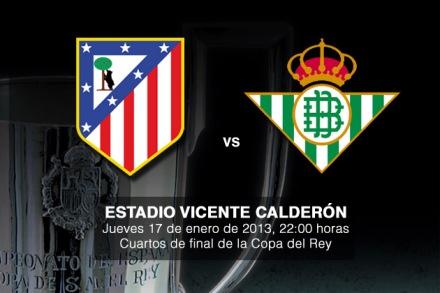 El Betis será un rival complicado/Foto:Atlético de Madrid