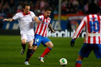 Gabi una vez más fue el pulmón del equipo/Foto:Atlético de Madrid